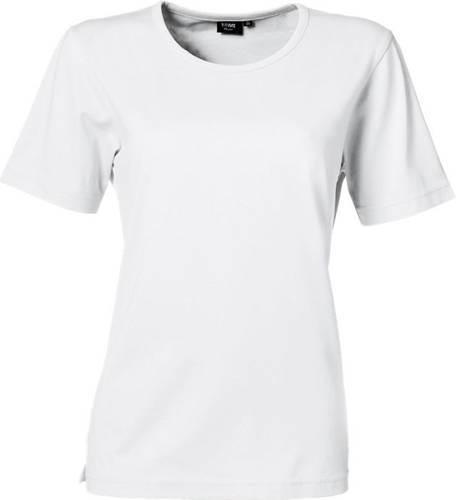 Dame t shirt Prowear mkorte ærmer, hvid, str S, 40